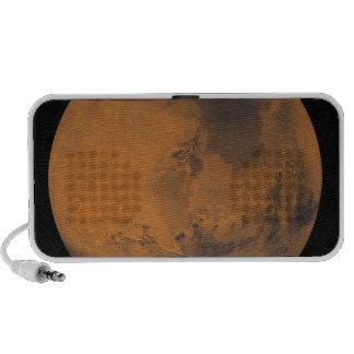Global Color View of Mars Laptop Speakers