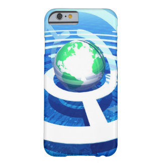 Global communication, conceptual computer 2 barely there iPhone 6 case