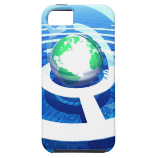 Global communication, conceptual computer 2 iPhone 5 cover