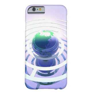 Global communication, conceptual computer barely there iPhone 6 case