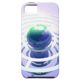 Global communication, conceptual computer iPhone 5 case