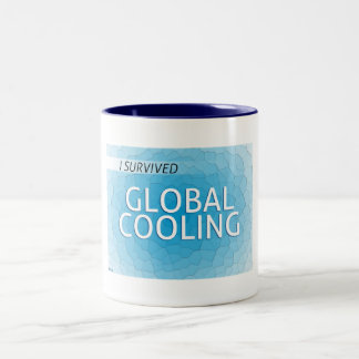 Global Cooling Two-Tone Coffee Mug