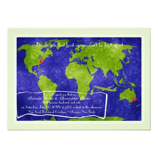 Global Destination Wedding Invitation
