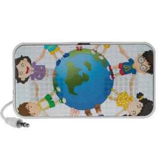 Global diversity travel speakers