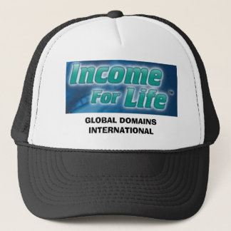 GLOBAL DOMAINS INTERNATIONAL TRUCKER HAT