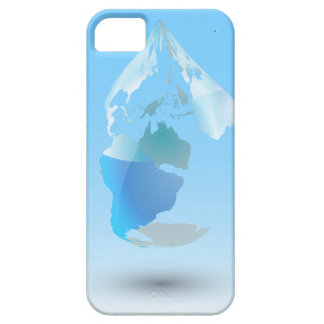 Global Drop Of Water Background iPhone 5 Case
