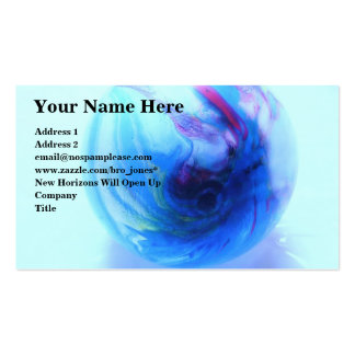 Global Economy Pack Of Standard Business Cards