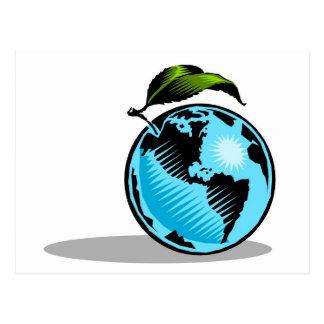 Global Environment Postcard