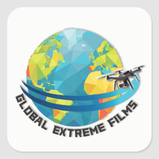 Global Extreme Films Sticker (White)