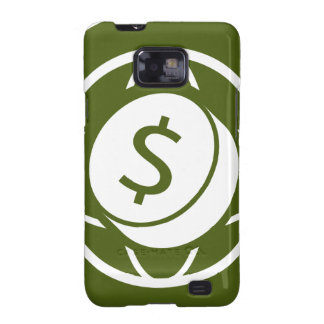 Global Financial Business Icon Galaxy SII Case