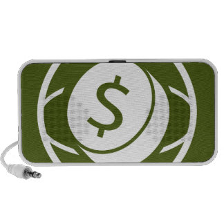 Global Financial Business Icon iPhone Speaker