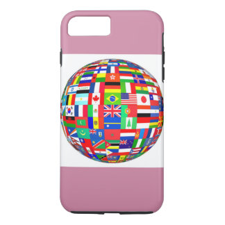 global flags iPhone 7 plus case