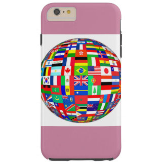 global flags tough iPhone 6 plus case