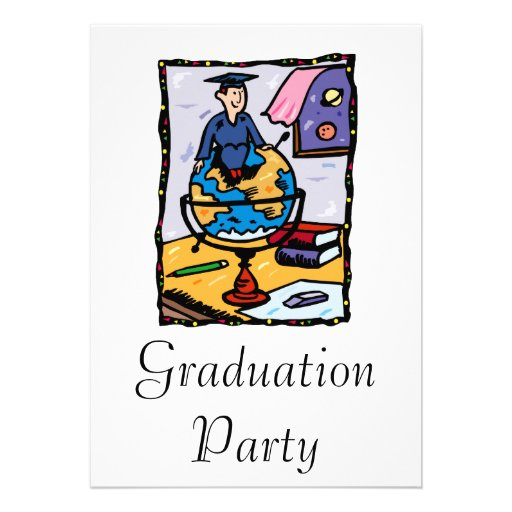 Global Graduate Custom Invites