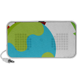 Global Growth Icon Travel Speaker