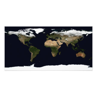 Global image of our world photo print