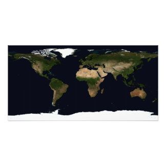Global image of the world photo