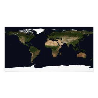 Global image of the world photograph