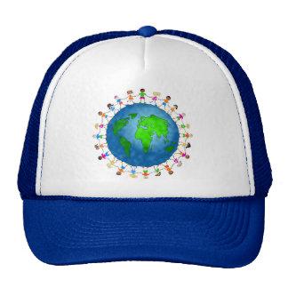 Global Kids Trucker Hats