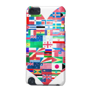 Global Love iPod Touch 5G Cases