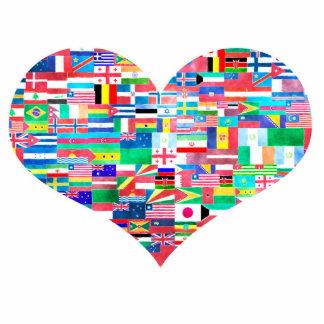 Global Love Photo Cutouts
