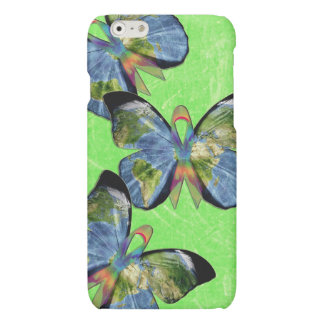 Global Lyme Disease Awareness Butterfly Phone Case iPhone 6 Plus Case