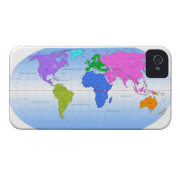 World map background iphone 4 cases zazzle uk global map 2 case mate iphone 4 case gumiabroncs Choice Image