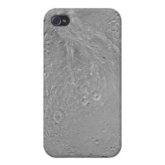Global map of Saturn's moon Dione Covers For iPhone 4