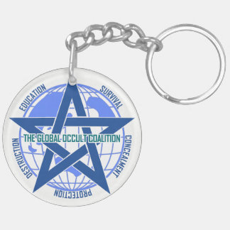 Global Occult Coalition keyholder [SCP Foundation] Key Ring