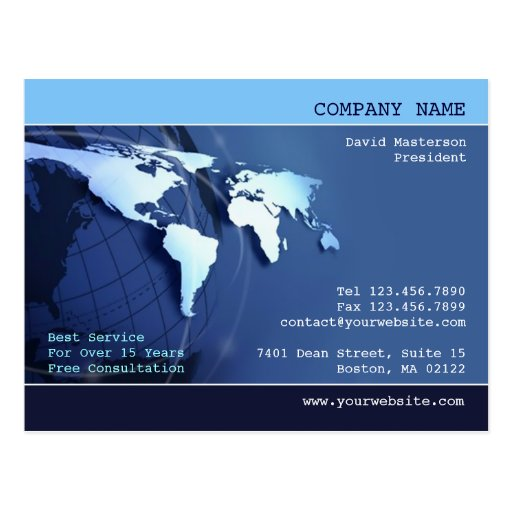 Global Postcard