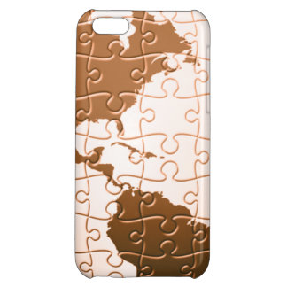 Global Puzzle iPhone 5C Cases