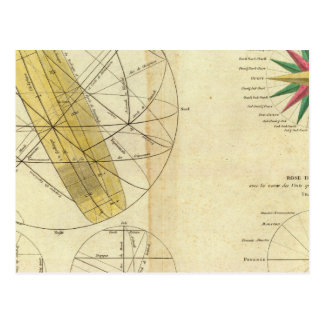 Global Spheres Intersecting Postcard