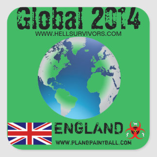 Global Sticker England 2014