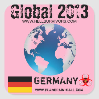 Global Sticker Germany 2013