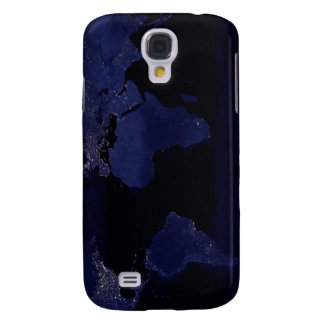 Global View of Earth's City Lights Galaxy S4 Case