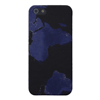Global View of Earth's City Lights iPhone 5 Case