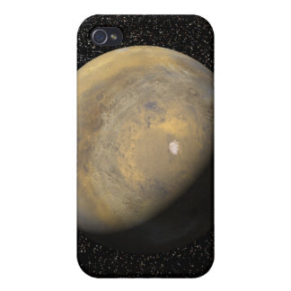 Global view of Mars Case For iPhone 4