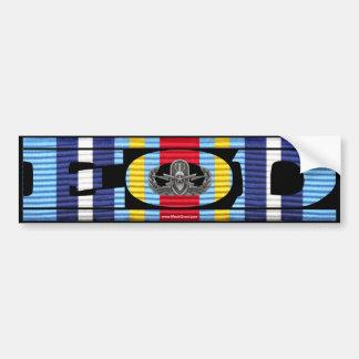 Global War on Terrorism Ribbon EOD Sticker Bumper Sticker