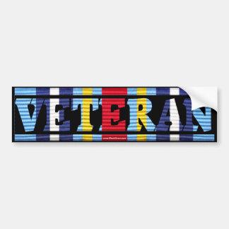 Global War on Terrorism Ribbon VETERAN Sticker Bumper Stickers