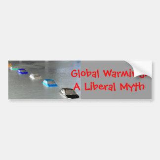 Global Warming: A Liberal Myth Bumper Sticker
