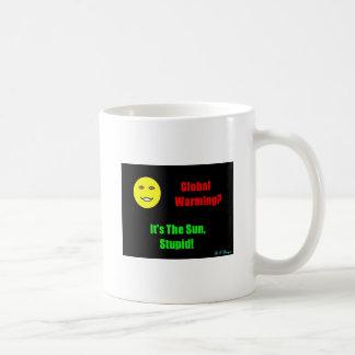 Global-Warming Basic White Mug