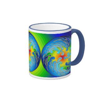 Global Warming Blue Moon Mug