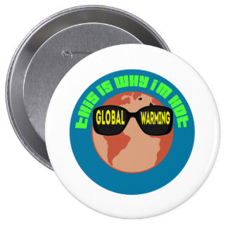 Global Warming Buttons