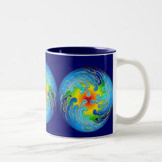 Global Warming Dark Day Mug