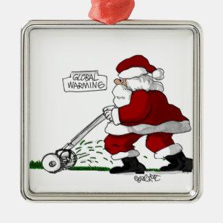 Global Warming Christmas Tree Ornaments