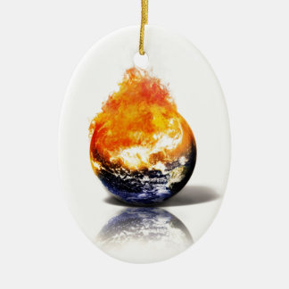 Global Warming Christmas Ornament