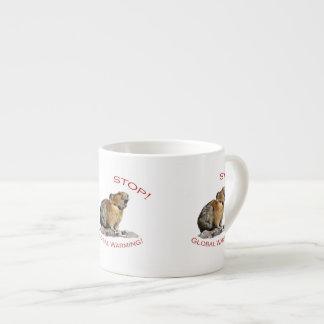 Global Warming Espresso Mug