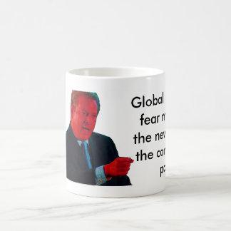 Global Warming Fear Mongers Basic White Mug