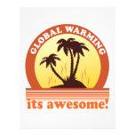 global warming flyer
