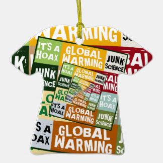Global Warming Fraud Ornament